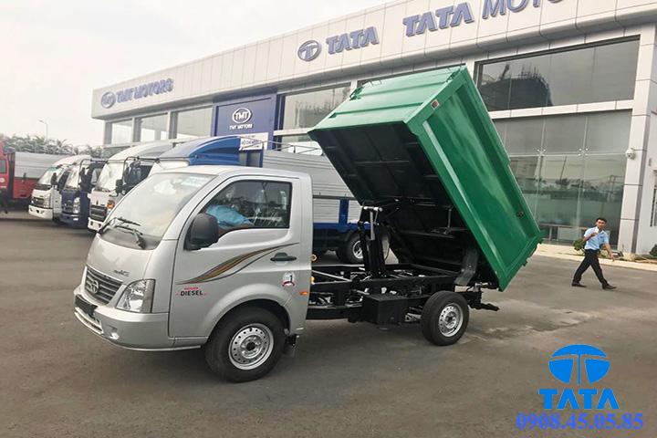 xe tải tata chở rác;